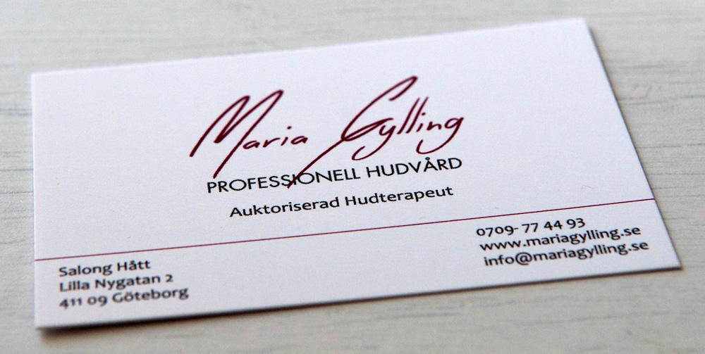 Maria Gylling Professionell Hudvård
